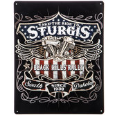 Sturgis Motorcycle Rally Metal Sign