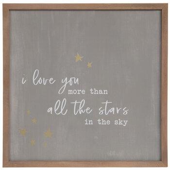 All The Stars Wood Wall Decor