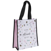 Life Is A Patchwork Quilt Tote Bag