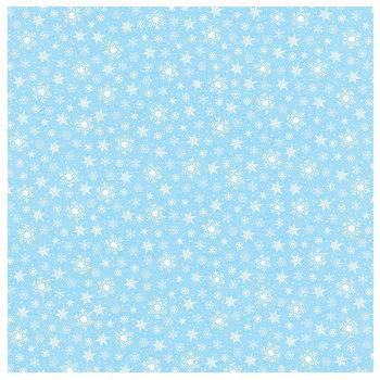 "Classic Snowflakes Scrapbook Paper - 12"" x 12"""