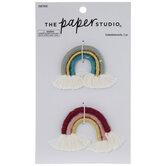 Rainbow Tassel Embellishments