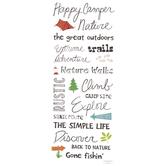 Outdoors Handwritten Stickers