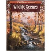 Wildlife Scenes In Acrylic