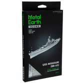 USS Missouri Metal Model Kit