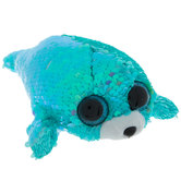 Waves Seal Reverse Sequin Beanie Boo