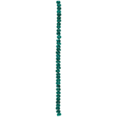 Teal Blue Dyed Opal Bead Strand