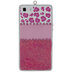 Pink Leopard Print Cell Phone Ornament