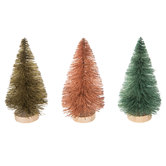 Pink, Green & Gold Sisal Trees - Small
