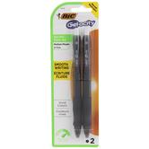 Black Gel Pens - 2 Piece Set
