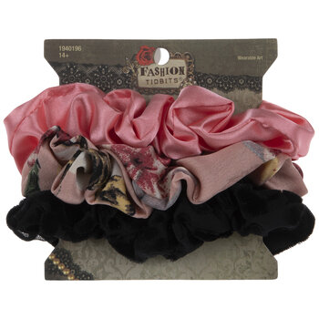 Bold & Floral Scrunchies