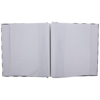 "Buffalo Check Post Bound Scrapbook Album - 8 1/2"" x 11"""