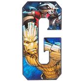Superhero Letter Metal Sign - G