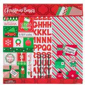 "Christmas Basics Scrapbook Kit - 12"" x 12"""