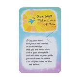 God Will Wallet Card