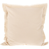 Natural Fringe Edge Pillow Cover