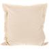 Natural Fringe Edge Pillow Cover