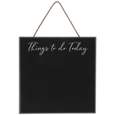 Things To Do Chalkboard Wood Wall Decor