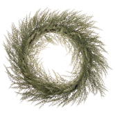 Cedar & Twig Glitter Wreath