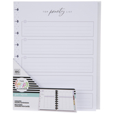Girl With Goals Undated Happy Planner Extension