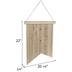 USA Pennant Wood Wall Decor