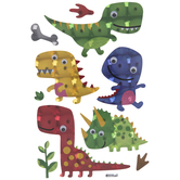 Dinosaurs Holographic Stickers