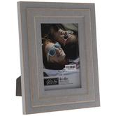 "Gray Rustic Wood Frame - 4"" x 6"""