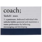 Coach Definition Wood Decor