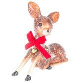 Sugared Sitting Deer