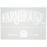 Farmhouse Adhesive Stencils