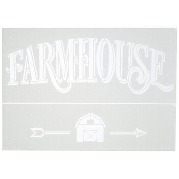 Farmhouse Adhesive Stencils
