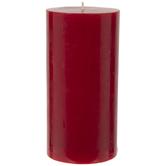 Red Hot Cinnamon Pillar Candle