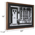 Black & White Bicycle Porch Framed Wall Decor