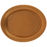 Copper Oval Tray