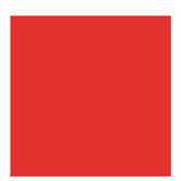 """Bright Red Smooth Cardstock Paper - 12"""" x 12"""""""