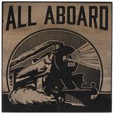 All Aboard Train Wood Decor