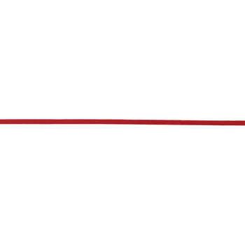 """Red Double-Face Satin Ribbon - 1/8"""""""