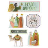 O Holy Night 3D Stickers