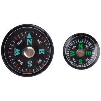 Black Compass Embellishments
