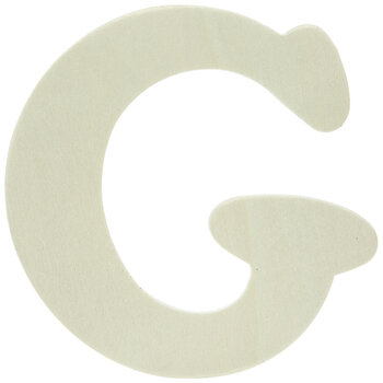 """Wood Letters G - 4"""""""