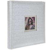 "White Weave Scrapbook Album - 6"" x 4"""
