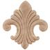 Fleur-De-Lis Wood Applique