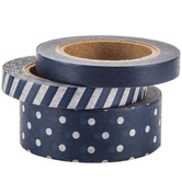 Polka Dot & Striped Washi Tape
