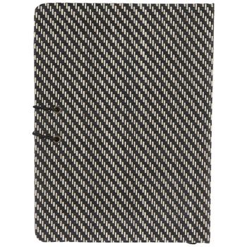 Black & White Striped Bullet Journal