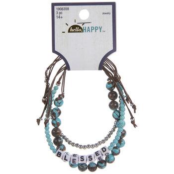 Blessed Slider Bracelets