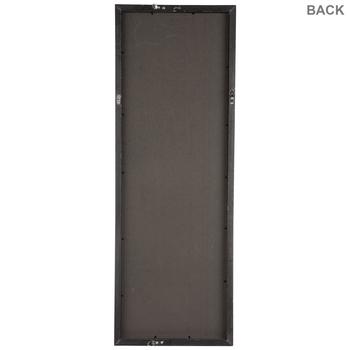 Black Rough Edge Wood Wall Frame