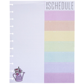 On The Schedule Weekly Block Pad