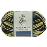 Crisp Cobalt Yarn Bee Cozy Toes Yarn