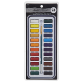Watercolor Paints & Brush - 24 Piece Set
