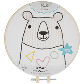 Easy Stitch Bear Embroidery Kit