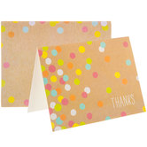 Thanks Confetti Cards